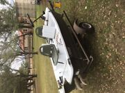 Pelican Fishing Boat With Trolling Motor And Trailer