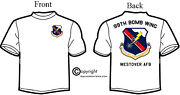Usaf 99th Bomb Wing Squadron T-shirt, Long Or Short Sleeve. Westover Afb