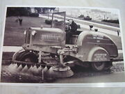 1930 And039s Moline Street Cleaner 11 X 17 Photo / Picture
