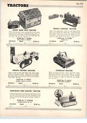 1955 Paper Ad Saunders Swadar Marvelous Mike Robot Electric Tractor Toy Marx