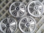 1966 66 Ford Mustang Hubcaps Wheelcovers Center Caps Antique Vintage Classic