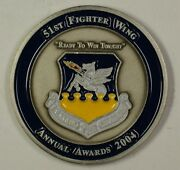 United States Air Force 51st Fighter Wing Mustang Stampede Award Medal 5