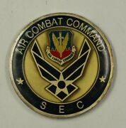 United States Air Force Air Combat Command Sec Challenge Coin 38