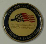United States Air Force John L. Hennessy Award Challenge Coin 48