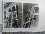 Vintage Glossy Press Photo Hanging Windows Bigalow House This Old House 1986