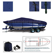 Deluxe Bayliner 215 Classic Bowrider Br Trailerable Navy Blue Boat Cover