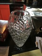 Beautiful Waterford Cut Crystal Bud Vase - Lismore Pattern - 11 Inches Tall