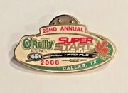 Vintage 2008 Oand039reilly Fall Nationals Super Start Lapel Pin Collect Dallas Nhra