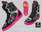 Zumba High Top Shoes Trainers Orlando Boots Street Elevate Hiphop Dance Fitness