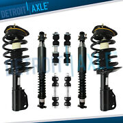 Cadillac Deville Dts Strut Assembly + Shock Absorber + Sway Bar Fit Front And Rear