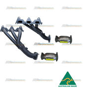 Genie Header Extractor And High Flow Cats No Tune For Holden Commodore Ve V6 3.6l