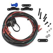 Warn 89586 Remote Control Socket And Wire Harness For Vantage 4000 Atv Winch