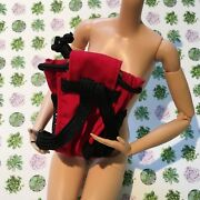 Barbie Doll Size Backpack Renesmee Red Accessory For Ooak Twilight 16