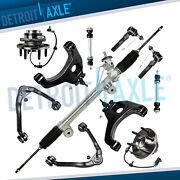 Rack And Pinion Front Upper And Lower Control Arm Wheel Hub Kit For Chevy Gmc 2wd