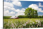 Flowers And Farm Holmes County Ohio Canvas Wall Art Print Countryside Home