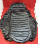 Used Travelcade Saddle Skin Replacement Seat Cover Black 1981-1982 Virago 920