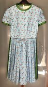 Prada Womans 2200 Summer Dress Cotton 2017 Ss Collection Nwtag Italy