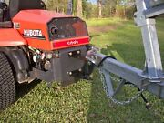 Zero Turn Mower Trailer Tow Hitch, All 1/4 Steel Plate, Made In The Usa