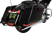 Ciro Lighted Saddlebag Extensions 40103 Fits Harley 2010-2013 Flhx And Fltrx