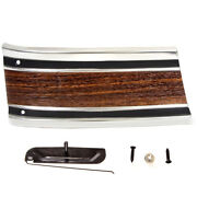 69-72 Chevy Pickup Truck Lower Front Fender Molding Right W/clip Woodgrain-m1222