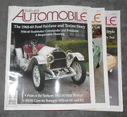 Collectible Automobile Magazine 3 Issues June 2010 April + October 2011