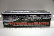 2013 Hess Toy Truck And Tractor In Box Excellent Condition