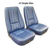 1969 Corvette Seat Covers Leather Complete Set Any Factory Color C3 New