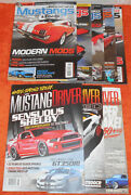 Mustang Driver Jun Aug Oct 2016 + Modified Mustangs And Fords Magazine 2012 2013