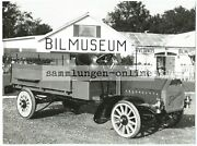Tidaholm 1905 Truck Flatbed Photo Vintage Car Photographer Photo