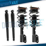 Front Struts W/ Coil Spring + Rear Shock Absorbers Oldsmobile Silhouette Pontiac