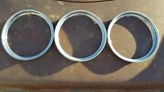 Beauty Ring Hub Caps Hubcap Wheel Rim Cover 1949-1975 Ford Chevy Dodge Cadillac