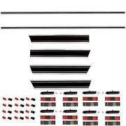 19691972 Chevy Truck Long Bed Molding Set Front+rear+upper+lower+right+left