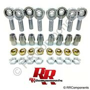 7/8-14 X 7/8 Borechromoly 4-link Heim Joints W/ Cones Fits 1-3/4 X .250 Tube