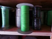 3/16 X 380 Ft. Diamond Hollow Braid Mfp Rope. No Core. Lime Green. Made In Usa