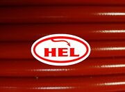 Red Gpz900r Zx900 A1 - A6 84-89 Fr And Rr Std Hel Braided Brake Lines