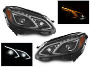 Us Spec Full Led Amg Headlight Upgrade For 2014-16 Mercedes Benz W212 E Class