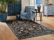 Black Rug 8x10 Distressed Area Rugs 5x7 Living Room Gray Rugs 2and039x3and039 Door Mat