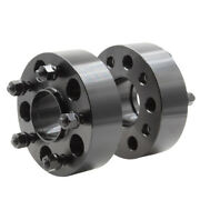 4 Wheel Spacers Adapters | 2 Inch | 5x4.75 | Chevy Camaro | Corvette | S10 | Cts