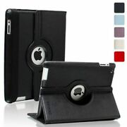 Kevenz 360 Degree Rotating Folio Smart Case With Built-in Stand For Ipad 2 3 4