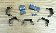 1955 56 1957 Chevy Convertible Top Hydraulic Hose Retaining Clips Set Of 7 Usa