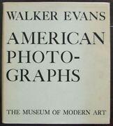 American Photographs By Walker Evans First Edition With Dust Jacket - 1938
