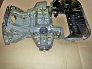 Mercedes Benz Sl500 Upper And Lower Oil Pan - Used