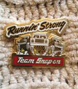 Snap On Tools Collectable Running Strong Lapel Pin Rare Limited Antique 1987