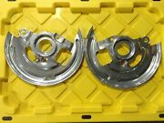 Oe 1969 Camaro Disc Brake Backing Plates With Part And039s Powder Coated
