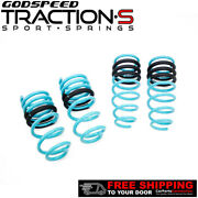 Godspeed Project Traction-s Lowering Springs For Porsche 911 991 12-17 Rwd/awd