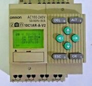 Omron Zen-10c1ar-a-v2 Zen Series Cpu Unit 17z07m 10c1arav2 Lot Of 2