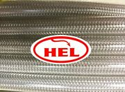 Clear Xs650 1981-1982 Fr And Rr Std Setup Hel Braided Brake Lines