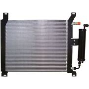 1964 - 1970 Mustang A C Parallel Flow Condenser With Drier And Factory Mounts