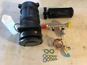 62 - 73 Buick New Aluminum A6 A C Compressor Package Made In Usa Paypal Accepted