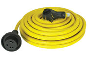 Quick Products Qp-30-50th 30 Amp Rv Cord - Grip Handle Plug And Twist Lock 50and039
